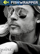 Here, Have Some More Scrumptious Brad Pitt Awesomeness