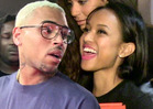 Chris Brown and Karrueche Tran -- LIVING TOGETHER AGA