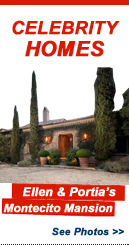 Celebrity Homes: Ellen DeGeneres and Portia de Rossi