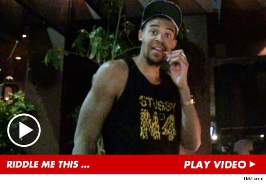NBA Star JaVale McGee — I've Got a RIDDLE for You!!!!