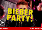 Justin Bieber -- Let's Party!! Just Sign Here,