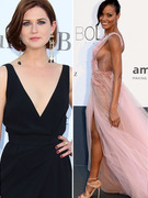"""Harry Potter"" Star & Selita Ebanks Turn Heads at amfAR Event"