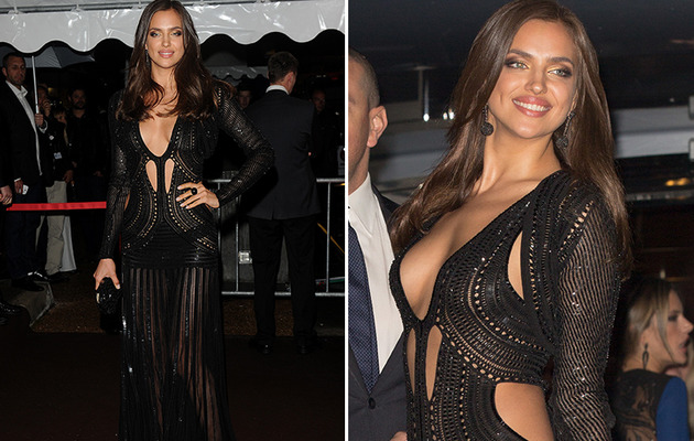 Roberto Cavalli's Cannes Bash -- Irina Shayk Shows Major Skin!