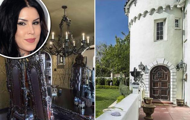 Kat Von D Selling Gothic Mansion!