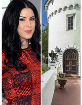 Photos: Kat Von D Selling Gothic Mansion!