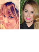 Lauren Conrad Debuts New Bangs!