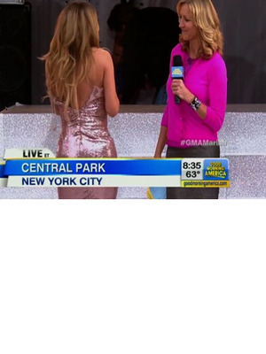 Mariah Carey Has Wardrobe Malfunction on Live TV