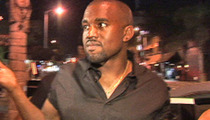 Kanye West -- 'New Slaves' Screening Shut Down By Cops
