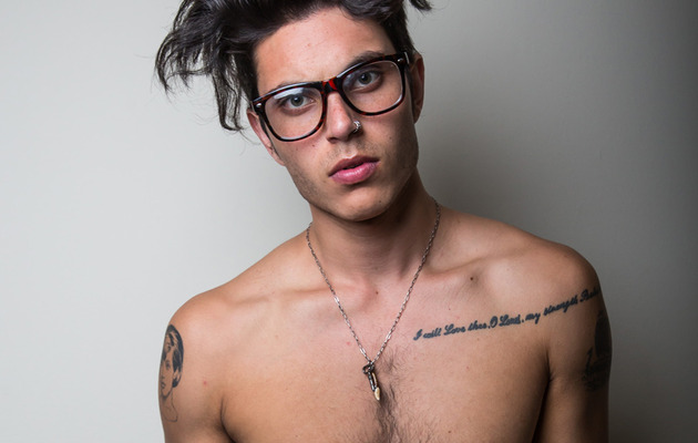 """Glee"" Star Samuel Larsen Chops Off His Dreadlocks"