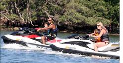 Tiger Woods & Lindsey Vonn -- No School? LET'S GO JET SKIING!