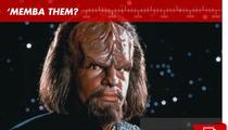 "Worf in ""Star Trek: The Next Generation"": 'Memba Him?!"