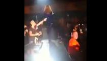 Beyonce -- SLAPPED ON THE ASS ... By Fan in Denmark