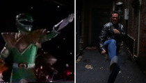 Green Power Ranger -- Catches Beatdown by ... Liberace??