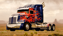 "Optimus Prime Gets a Makeover for ""Transformers 4"""