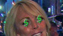 Dina Lohan -- Paid $50,000 for Blowout Talk Show Fight