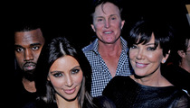 Kim Kardashian -- Bruce Jenner's Losing It ... He's Met Kanye West A BUNCH