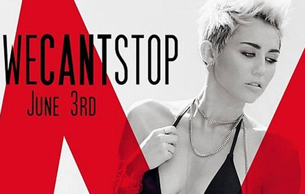 "Miley Cyrus' Debuts New Track ""We Can't Stop"" -- Listen Now"