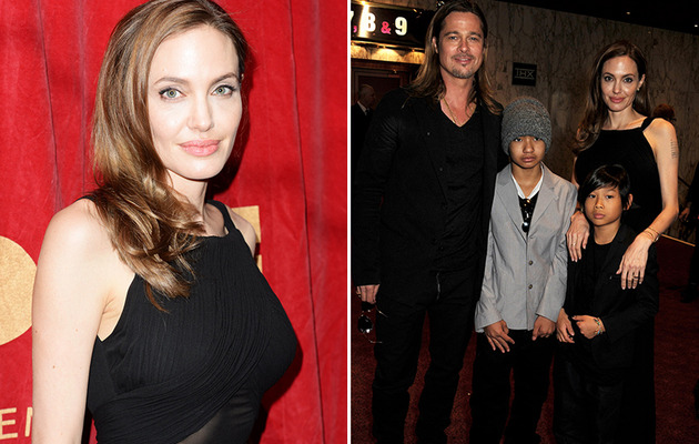 Angelina Jolie Does First Red Carpet Since Double Mastectomy