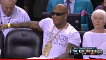 Flo Rida -- LONELY ... After Manager Ejected From NBA Playoff Game