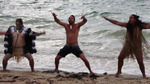 Jason Momoa -- Scaring The Crap Out Of Us With The Haka Dance