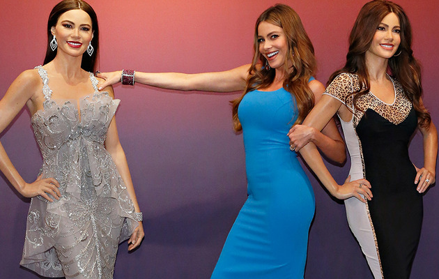 Sofia Vergara's Wax Figure -- Did They Get Her Curves Right?