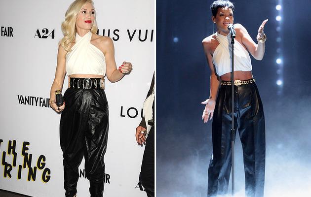 Dueling Dresses: Gwen Stefani vs. Rihanna!