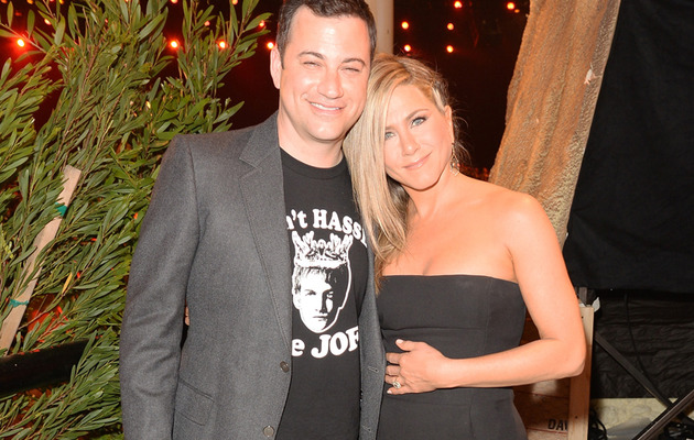 Jennifer Aniston Roasts Jimmy Kimmel at Guys Choice Awards