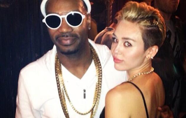 Video: Miley Cyrus Twerks On Stage at Juicy J Concert!