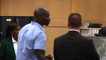 Chad Johnson -- Ripped By Judge for Slapping Lawyer's Ass