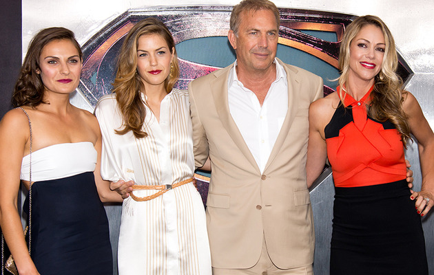 Can You Guess Which Gal is Kevin Costner's Wife?