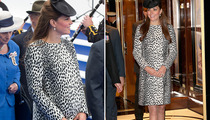 Kate Middleton Glows at Last Public Appearance Before Baby
