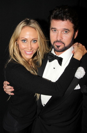 Billy Ray Cyrus and Tish Cyrus -- Happier Times