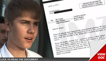 Justin Bieber -- Photog Lawyers Up ... I Want My Stuff Back!