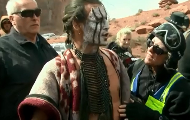 "Video: Johnny Depp Trampled By Horse on ""The Lone Ranger"" Set!"