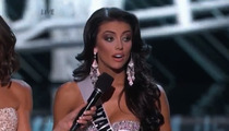 Bumbling Miss Utah -- I Zoned Out and Never HEARD the Question During Miss USA Fail