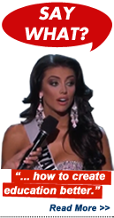 Say What?!: Miss USA