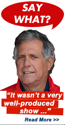 Say What?!: Les Moonves