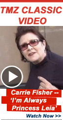 Video Lightbox: Carrie Fisher -- 'I'm Always Princess Leia!'