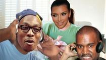 Kim Kardashian and Kanye West -- Baby Blocked in Maternity Ward ... By Dwight Howard