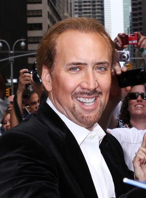 Our 'National Treasure' -- Nicolas Cage!