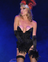 """Real Housewives"" Star Sonja Morgan Makes Burlesque Debut!"