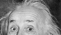 Einstein Gets Licked By Tori Spelling