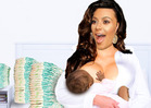 Kim Kardashian -- Obsessed with Breastfeeding