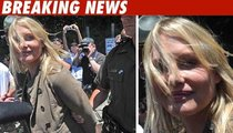 Daryl Hannah Faces Off with Police