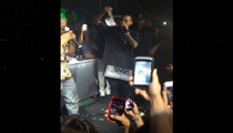 Chris Brown -- I'll Take Those Panties, Thank You!