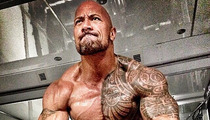 The Rock's 'Hercules' Diet -- 7 Meals a Day, 3 Pounds of Meat, 14 Eggs!!!