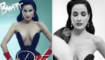 Dita Von Teese  Flaunts Figure, Talks Stripper Past!