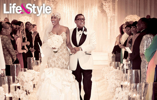 "First Photo: See ""Real Housewives"" Star NeNe Leakes' Wedding Dress!"