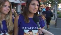 "Funny Video: Jimmy Kimmel Debuts ""Lie Witness"" with Justin Bieber Fans"