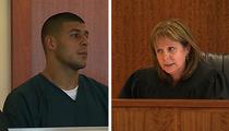 Aaron Hernandez Back in Court -- BAIL DENIED